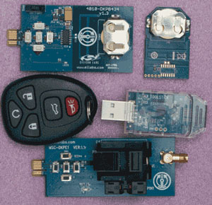 Key Fob Development Boards